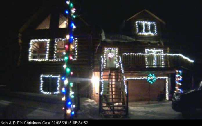 Christmas Lights Control Via a Web Browser