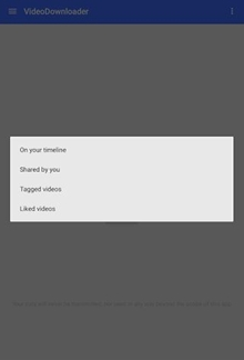Baixe vídeos do Facebook no Android1