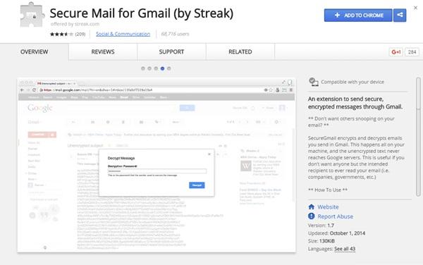 Encypt mails 1