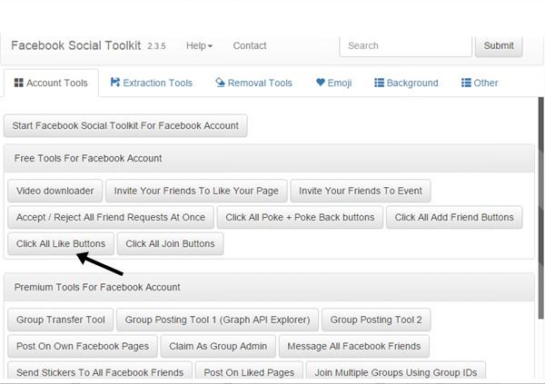 Facebook Social Toolit2