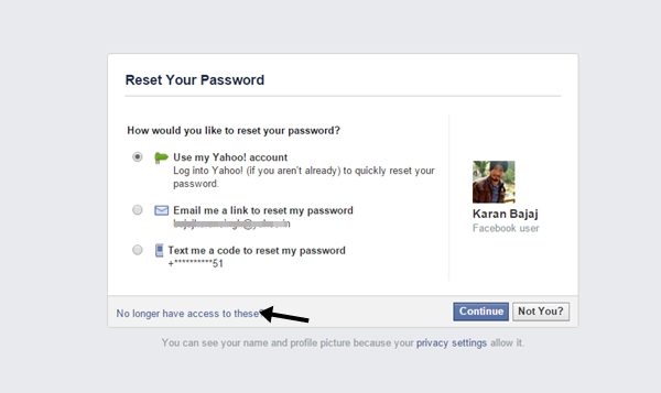 how to get into yahoo account without password