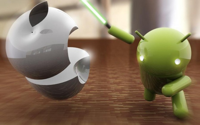 Fight Between Android Vs iOS, And The Results Will