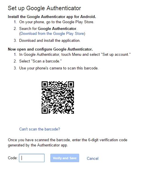 Google Authenticator 3