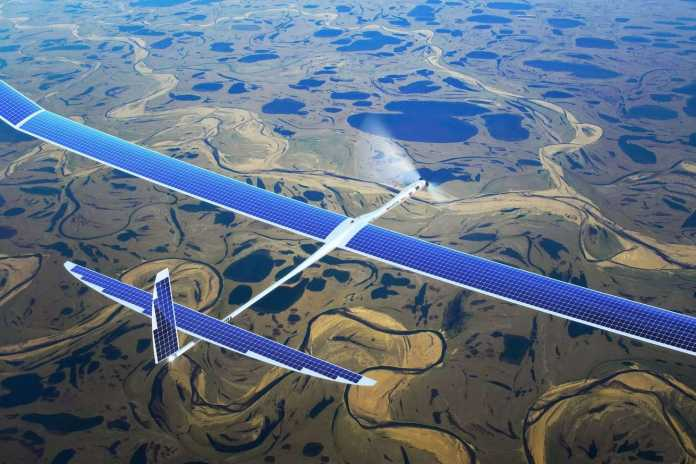 Google Working on 5G drones which will Make Internet 40 times Faster Than 4G