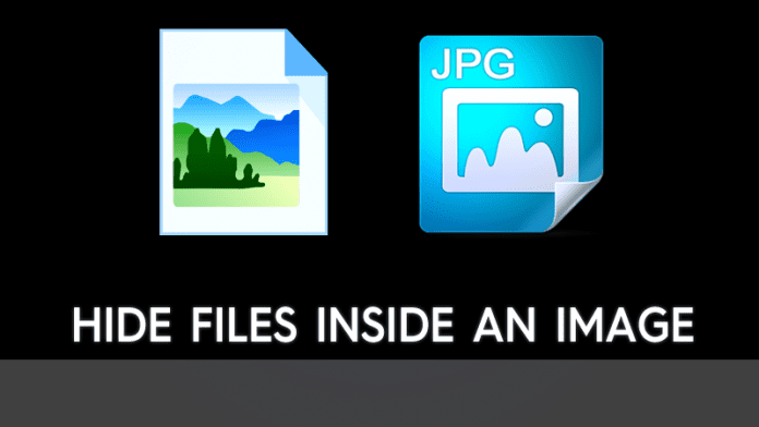 How to Hide Files Inside An Image Without Any Software