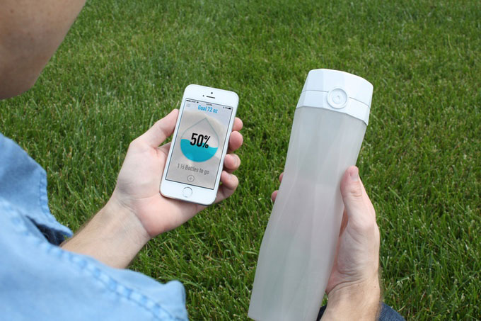 HidrateMe Alerts You to hydrated