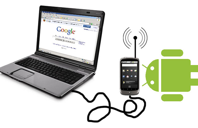 How To Share Internet Connection With Android via PC