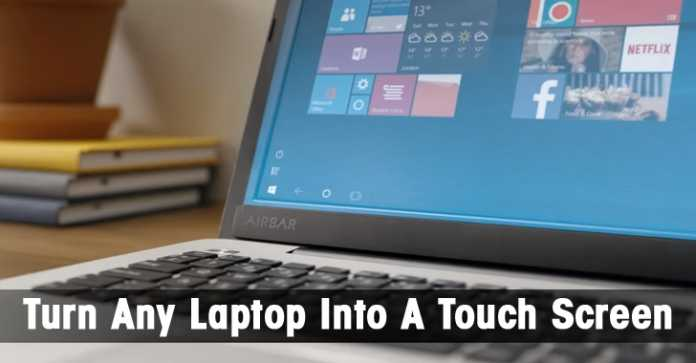 How to Convert Non-touch Laptop Into Touchscreen Laptop
