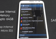 How to Swap Internal External Memory In Android