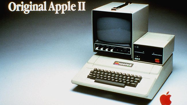 Original Apple II Steve Jobs