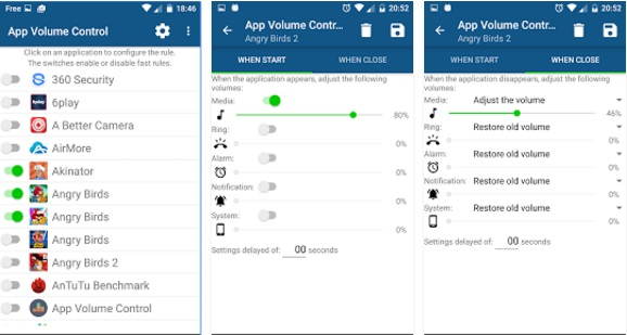 Set Volume Levels for Individual Apps In Android