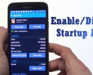 How To Enable Or Disable Startup Apps In Android