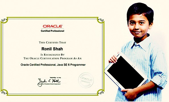 This 10 Year Old Kid Scores Full Marks in Java Exam Within 18 Minutes
