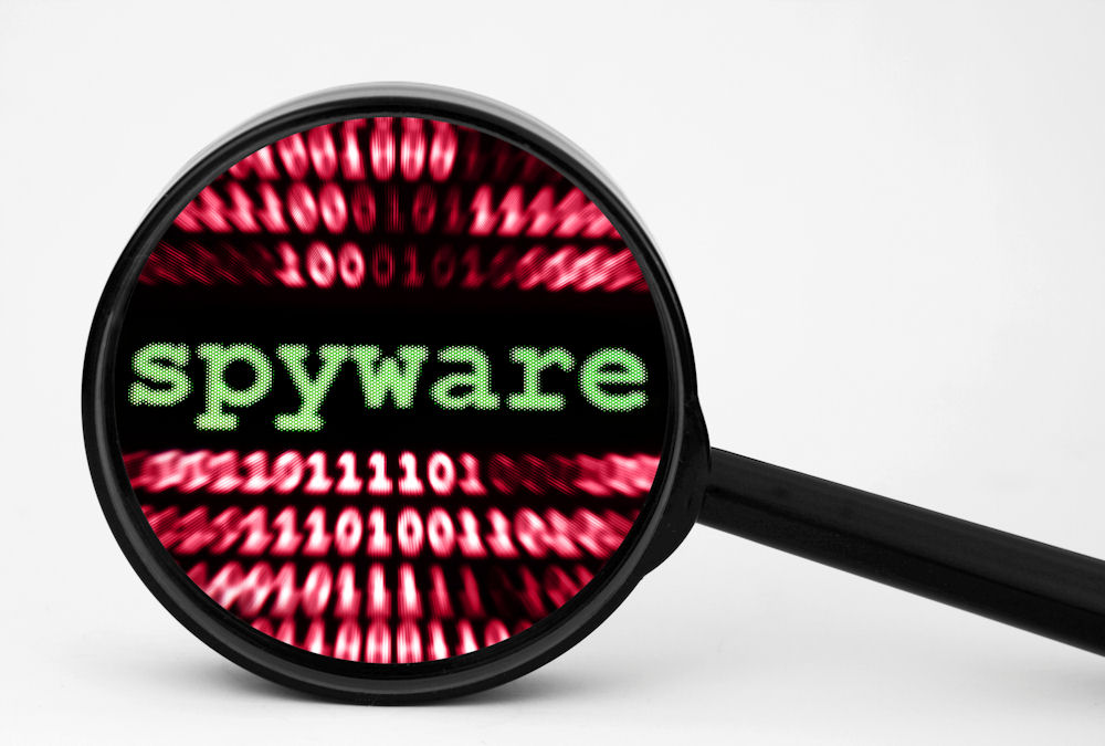 Check your Web browser for spyware