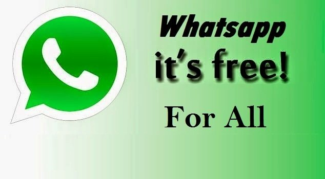 WhatsApp Officially Confirmed To Be Free For All Users