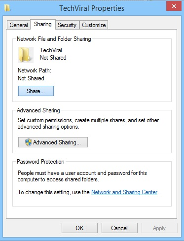 Windows File Sharing 2