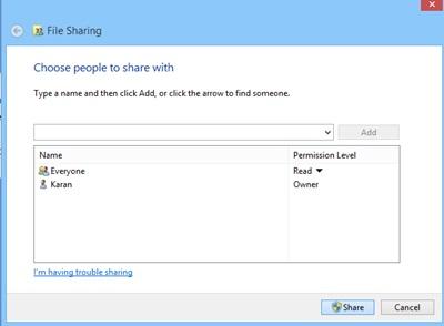 Windows File Sharing 3