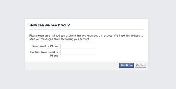 how to create a new facebook account without email