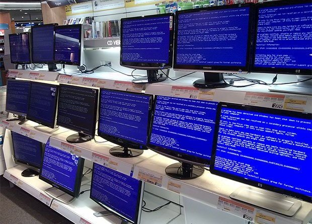 Create Fake Blue Screen of Death in your Window