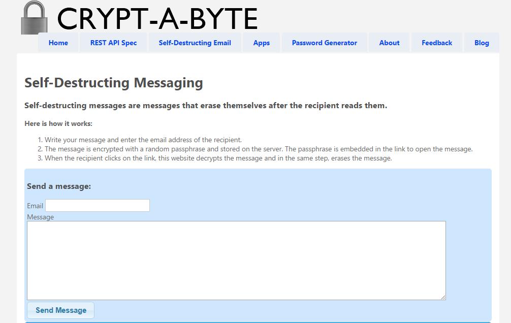 Crypt-a-byte
