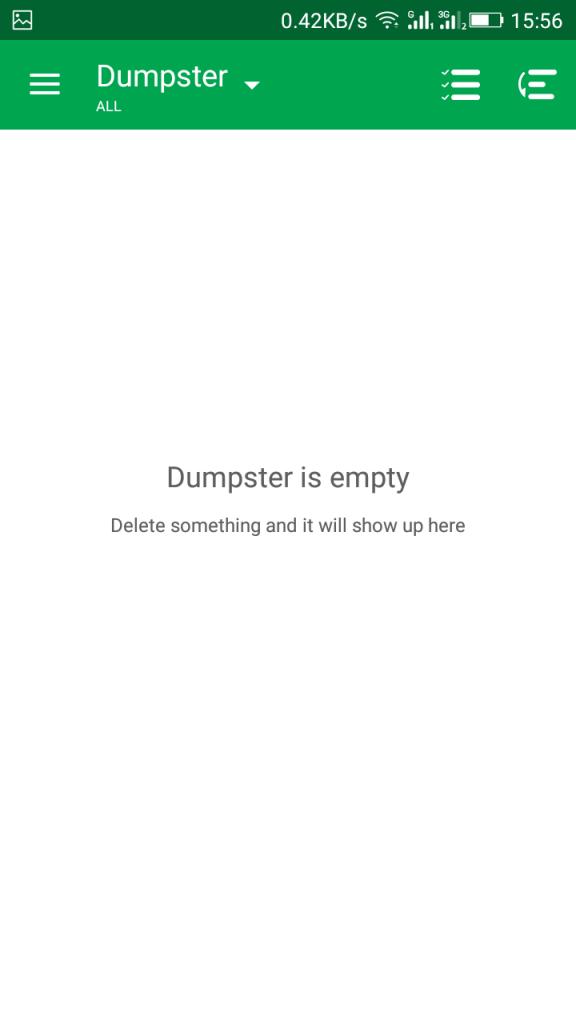 Using Dumpster