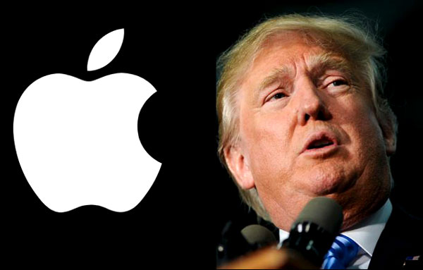 Donald Trump Says Boycott All Products from Apple
