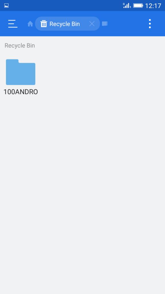 Using ES File Explorer