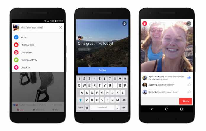 Facebook Starts Rolling Out Live Video Feature to Android
