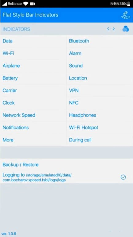 Get iOS Type Status Bar On Any Android Device
