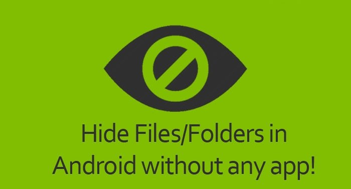 How To Hide Certain Images On Android Without Any App