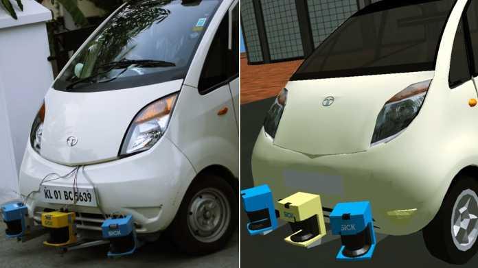 Indian Man Builds Driverless Tata Nano