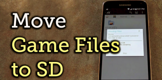 How to Install Apps & Move OBB Files to External SD card