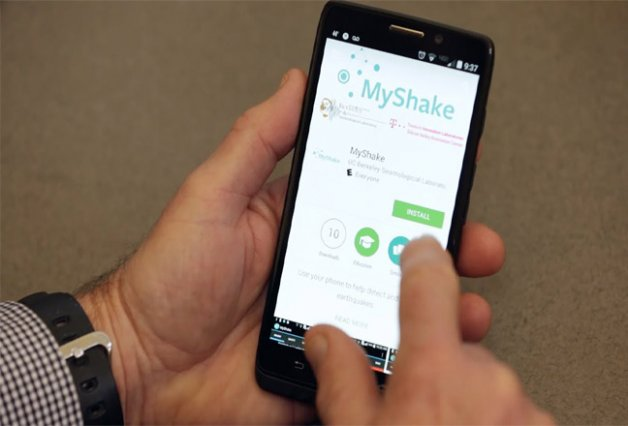 New Android App Helps In Detecting Earthquake