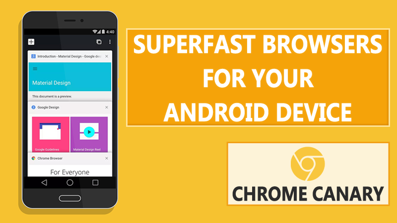 10 Best Superfast Browsers For Your Android Device in 2021