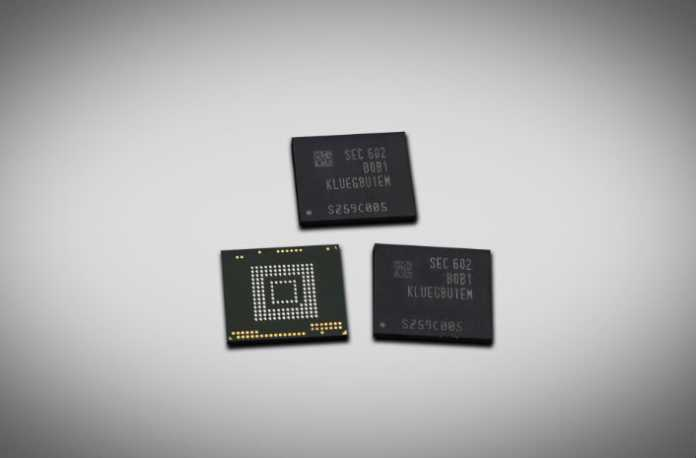 Samsung Launches First 256GB UFS 2.0 Memory for mobile