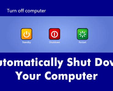 How To Automatically Shut Down Your Computer At A Specified Time
