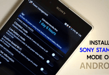 How to Install Sony Stamina Mode on All Android Deivces
