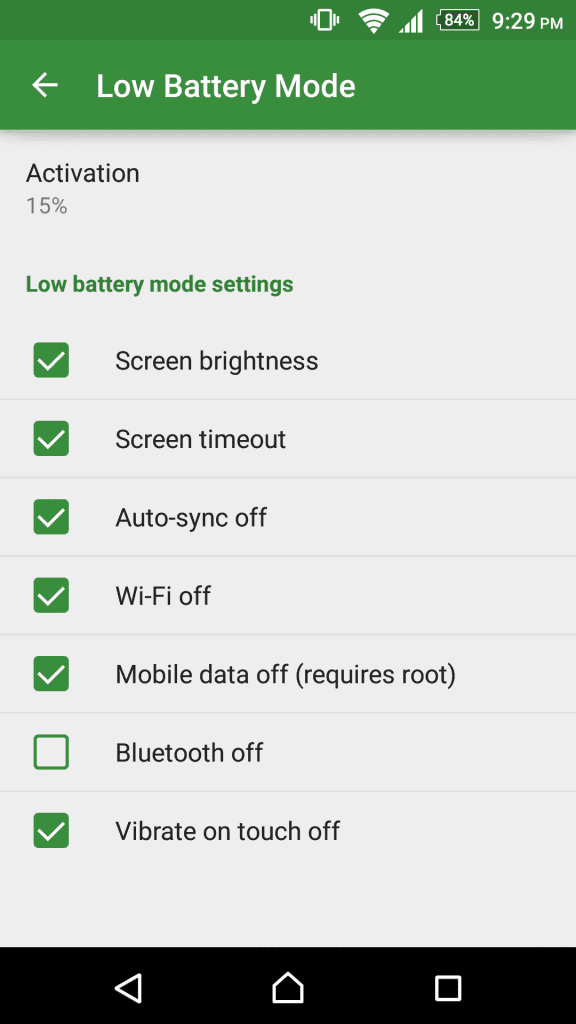 Stamina Mode On Any Android
