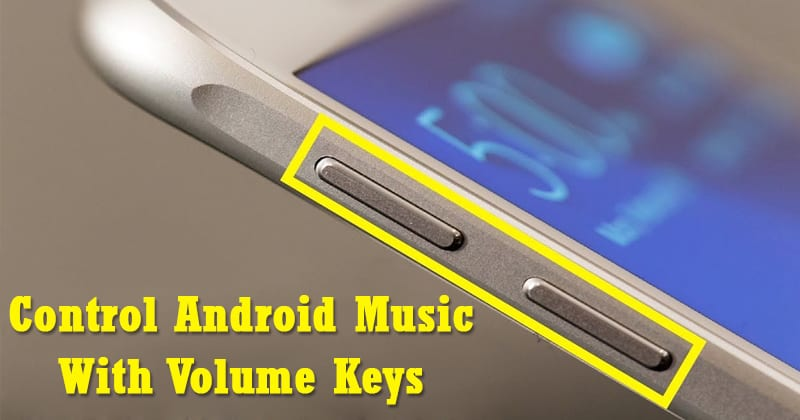 How To Control Android Music With Volume Keys When Screen is Off
