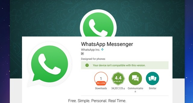 Red Alert from Whatsapp to Old Android and iOS Devices...