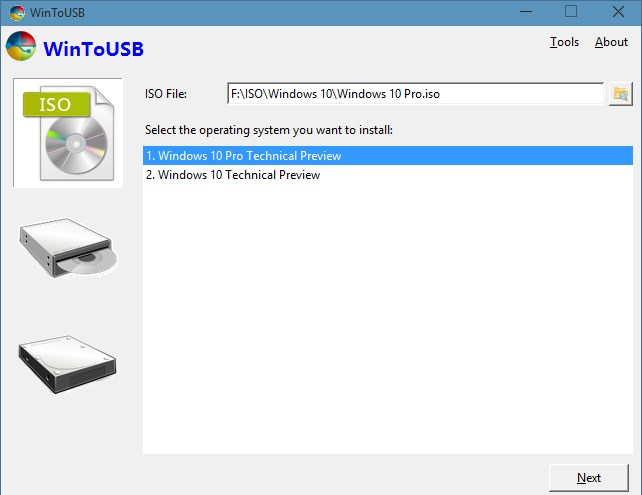 Windows 10 usb2