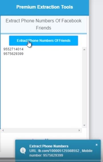 extraxct phone number