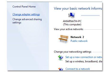 Using Network Setting