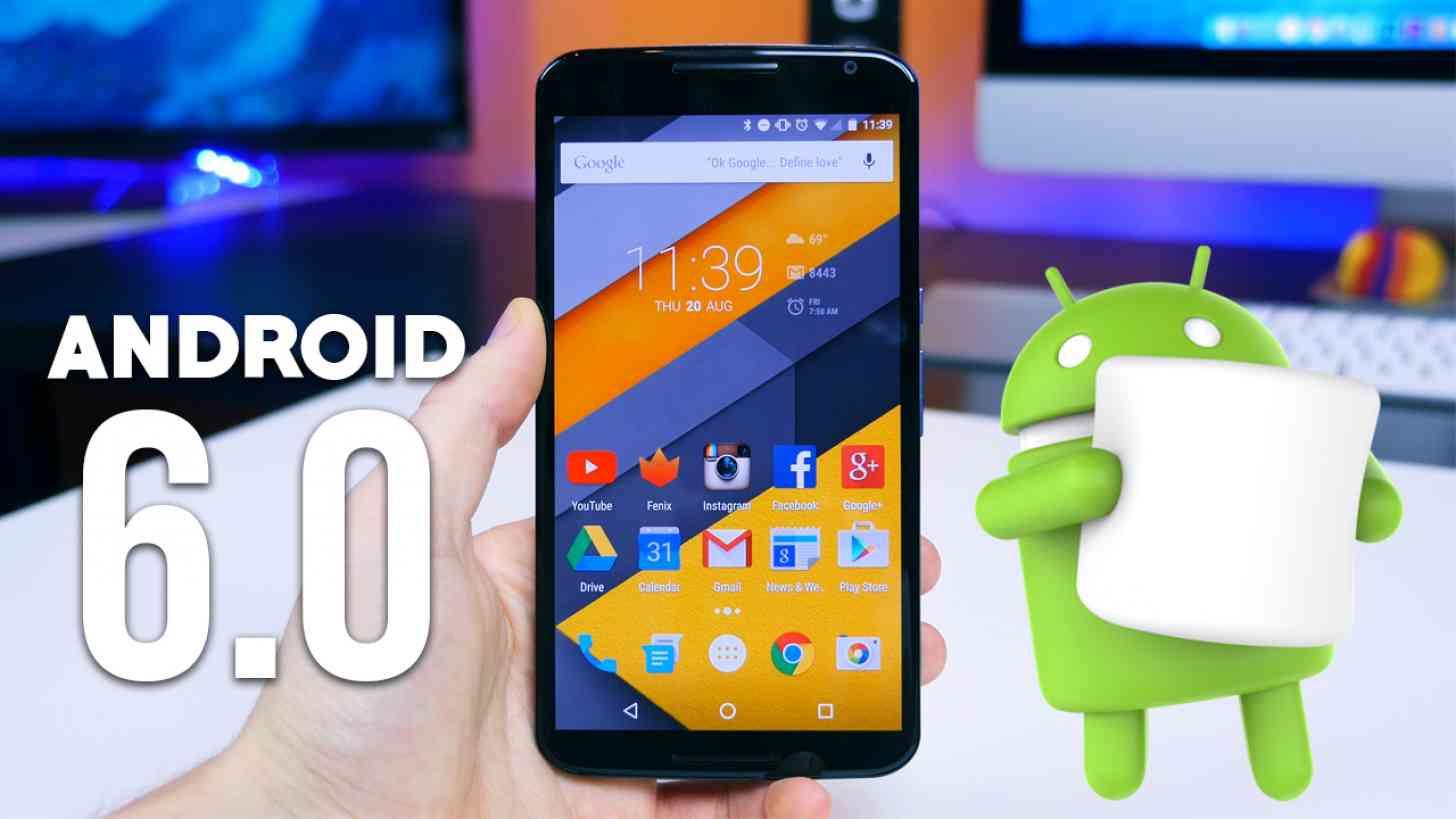 نتيجة بحث الصور عن android 6.0