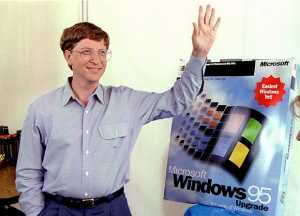 Bill Gates aimed to become millionaire