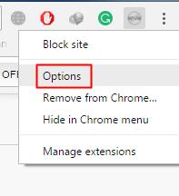 Using Block Site