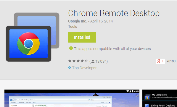 [checkout]how To Control Your Pc Using Your Android Device Chrome-Remote-Desktop-1