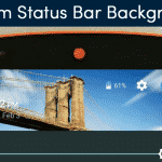 How To Get Custom Status Bar Backgrounds Based on the Time of Day