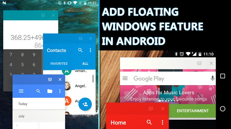Image result for Floating Windows Feature in Android
