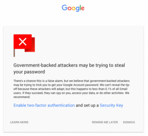 Google Alert For The Invasion By Government Hackers1